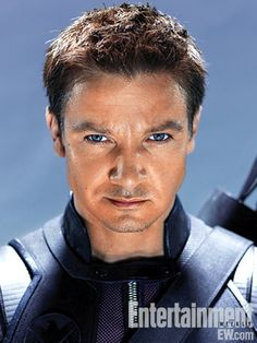 Jeremy Renner ... in the Avengers. SIGH!