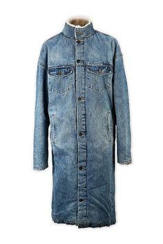 Faux Fur Sheep Denim Coat