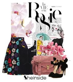 """""""Sheinside II/1"""" by doris-popovic ❤ liked on Polyvore featuring Whiteley and Proenza Schouler"""