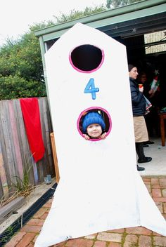 """Photo 1 of 13: rocket/space / Birthday """"Rocket 4th Birthday Party"""" 