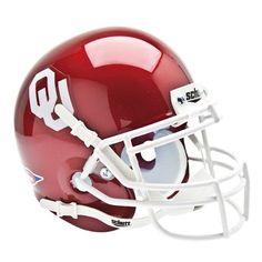 Oklahoma Sooners NCAA Authentic Mini 1/4 Size Helmet
