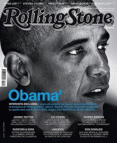 sashaelle143:  blackfashion:  President Barack Obama for Rolling Stone Italy  i love his eyes tho