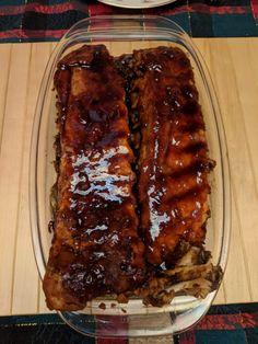 "Helvetic Barbeque ""Sous Vide & Wet"" Spareribs - Helvetic-Barbeque.ch Spareribs, Sous Vide, Steak, Pork, Oven, Essen, Recipies, Kale Stir Fry, Steaks"
