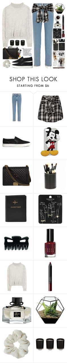 """""""2311. You are your only limit."""" by chocolatepumma ❤ liked on Polyvore featuring Acne Studios, H&M, dELiA*s, Chanel, Garance Doré, FOSSIL, Topshop, Bobbi Brown Cosmetics, NARS Cosmetics and Gucci"""