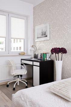 Sypialnia i miejsce do pracy
