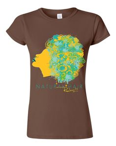 Natural Hair Rules!!! Signature Shirt | Available in White, Black
