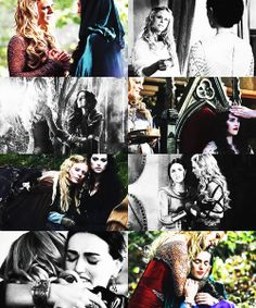 I blame Morgana's turning on Morgause %90, with %5 of her being betrayed, the other %5 on her own poor choices. I disagree with the view that Morgause truly loved Morgana. I believe if she had any affection for Morgana whatsoever, it was selfish and dysfunctional. Her tearing up in 2x12 was her realizing that her plan was falling apart, not worry for Morgana. She used her to get the throne, just as Morgana used Gwen in S5. Your thoughts?--FrodotheSecond
