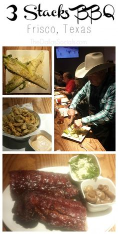 3 Stacks BBQ in Frisco, Texas - try their beef ribs, fried pickles and stuffed jalapenos! Texas Bbq, Frisco Texas, Dallas Texas, Broken Bow Oklahoma, Dallas Restaurants, Food Spot, Beef Ribs, Places To Eat, Family Meals