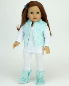 a9658d1aba15 18 Inch Doll Clothes By Sophia's.4 Piece Doll Outfit - An Adorable Winter  Look