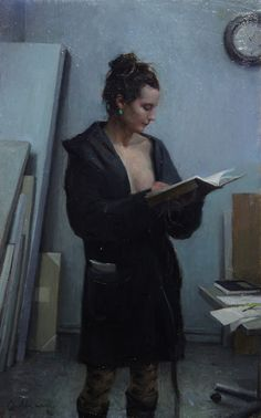 Spanish painter Jordi Diaz Alamà may describe himself as a traditional painter but there's nothing remotely traditional with his work. Morality, mortality and sexuality are all recurring themes in his work. Woman Painting, Figure Painting, Florence Academy Of Art, Frank Dicksee, Eric Zener, Bo Bartlett, Greg Olsen, Kate Smith, Franz Kline