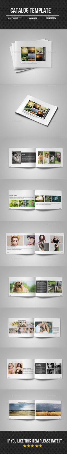 Photographer Portfolio Brochure Template #design Download: http://graphicriver.net/item/photographer-portfolio/11394091?ref=ksioks