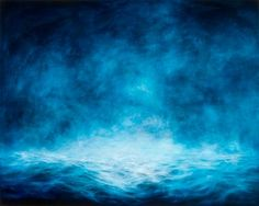 MaryBeth Thielhelm-'Nocturnal Cobalt Sea'-Sears-Peyton Gallery