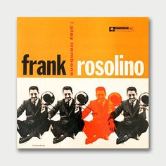 mid century album covers | Mid-Century Album Covers – Frank Rosolino – I Play Trombone ...