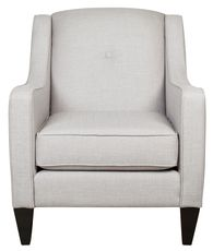 Beautiful and Classic, a great chair for many environments! The Groove Custom Chair from Urban Barn.