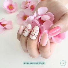 Plum Blossom Nail Art