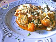 μπριαμ- λαχανικά- φέτα- ελληνική κουζίνα- μπριάμ με κρέμα φέτας