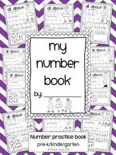Thank you for looking!This is a math number book.This product includes a cover and a practice page for each number 1-10.Look at the preview photo to view a sample of the pages included.Thank you for looking!Megan SheaNow Available: My Letter Book!Now Available: My Number Book: Numbers 11-20