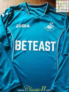 Official Joma Swansea City goalkeeper football shirt from the 2016/17 season.