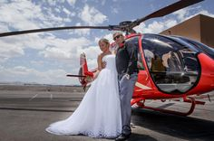 Helicopter Wedding Ceremony: The Grand Canyon If getting married in a natural wonder of the world is on your bucket list, look no farther. You and your guests will enjoy a scenic flight the Grand Canyon West Rim for a private ceremony in the basin of the canyon. Photos, cake, a Champagne toast and limousine transfers are included.Your day will begin with pickup from your Las Vegas hotel by limousine. Upon arrival at the helicopter terminal, you will be greeted with a 12 rose ...