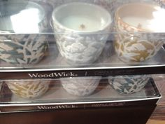 Wood Wick Gift Sets in new scents