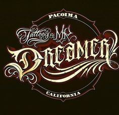 Chicano Lettering Chicano Lettering, Tattoo Lettering Fonts, Font Art, Graffiti Lettering, Cool Lettering, Hand Lettering, Handwritten Letters, Typography Letters, Typography Design