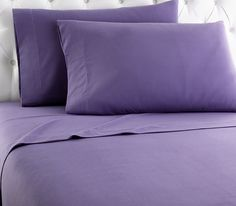 Complement any bedding and make a warm, cozy bed with the Solid Polyester Sheet Set by Micro flannel . This sheet set is made from soft polyester. Twin Xl Sheet Sets, Twin Sheets, King Sheet Sets, Flat Sheets, Bed Sheets, Plum Bedding, Cotton Bedding, Relax, King Bedding Sets
