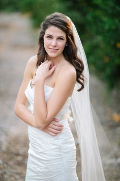 Half Up Wedding Hairstyles With Veil