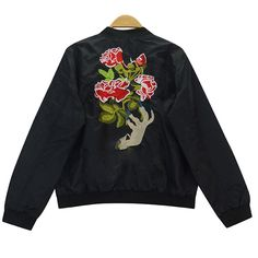 Roses Bomber sold by Luxum Store