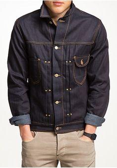 Mode online von mehr als Top-Marken Denim Jacket Men, Men's Denim, Denim Jackets, Jean Jackets, Blue Jeans, Men's Jeans, Under Armour Men, Gentleman Style, Vintage Denim