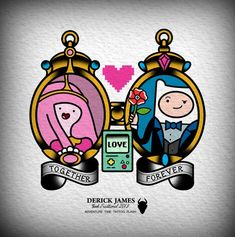 Adventure Time - Finn and Princess Bubblegum