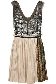 Sequined silk dress ($500-5000) - Svpply