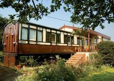 You Can Now BUY Old Abandoned Railway Coach And Covert Them Into Your Very Own Paradise