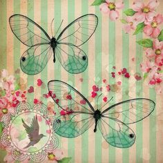 Im genes Vintage Antiguas Retro con Dise o para transferir o imprimir - Imprimibles - Decoupage Vintage, Decoupage Paper, Vintage Cards, Vintage Paper, Vintage Images, Background Vintage, Paper Background, Rosa Vintage, Butterfly Art