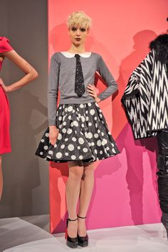 This Top is so Major!  Alice + Olivia Fall 2012