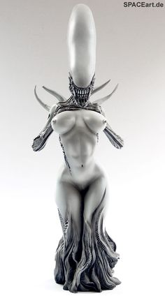Alien: Female Alien Mother - Statue, Fertig-Modell ... http://spaceart.de/produkte/al006.php