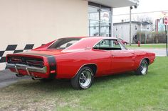 1969 Dodge Charger R/T.