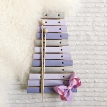 Xylophone - Custom Painted Wooden Musical Instruments, Early Music, Make Happy, Custom Paint, Ladder Decor, Hand Painted
