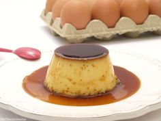 Flan Recipe, Thermomix Desserts, A Food, Cheesecake, Cooking, Sweet, Recipes, Empanada, Puddings