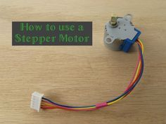 How to use a Stepper Motor Check out http://arduinohq.com for cool new arduino stuff! #arduino ~~~ For more cool Arduino stuff check out http://arduinoprojecthacks.com