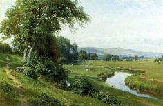 Paintings Palmer, Harry Sutton 1854 - 1933 English landscape artist