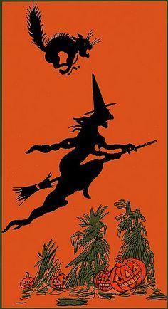 happy halloween pictures | Vintage Halloween Pictures