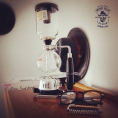 Hario Coffee Syphon just arrived to my studio BrambySupplyCo. #brambydesignstudio #barcelona #montgat #hario #coffeesyphon #style