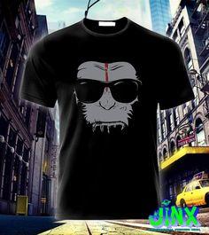 $179.00 Playera o Camiseta Planeta de Los Simios Cesar - Jinx