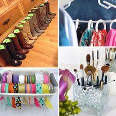 Home Organisation Tips, Bead Organization, Organizing Paperwork, Kitchen Organization Pantry, Organizing Your Home, Organising, Organization Ideas, Amazing Life Hacks, Clothes Storage