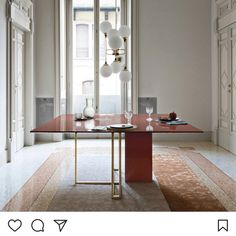 """251 Likes, 2 Comments - Mette Barfod Editor-in-chief (@rum_id) on Instagram: """"Perfect for a Sunday dinner @meridiani.livinginteriors"""""""