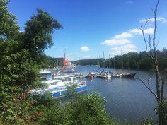 I søndags havde vi skønt sommervejr i Stockholm, så HK og jeg begav os ud for at…
