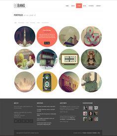 Bigbang - Responsive WordPress Template - ThemeForest Previewer