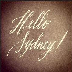 Hello everyone, I can't believe Friday is here, I am still recuperating from my week long calligraphy camp last week at IAMPETH. Word Doodles, Calligraphy For Beginners, Hand Drawn Type, Paper Glue, Hand Lettering, Sydney, How To Draw Hands, Typography, Arabic Calligraphy