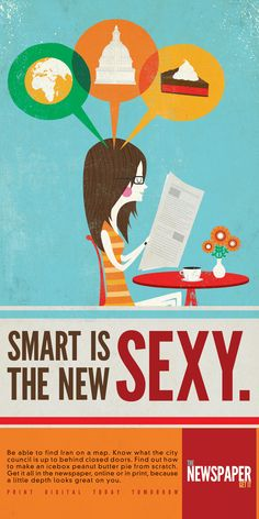 Smart is the new sexy! :)