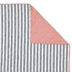 >>Railroad Stripe Quilt & Sham> #serenaandlily